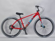 Chenga Red/Grey Souped Up - Complete Wheelie Bike